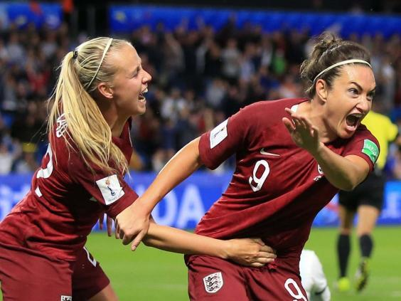 Jodie Taylor scored the only goal in England's win against Argentina (Getty)