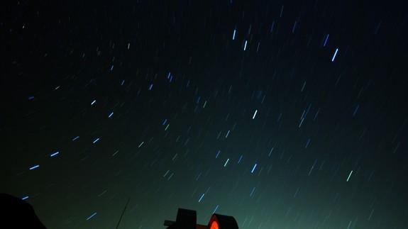 "<img alt=""""/><p>The Leonids meteor shower has been active for the past two weeks and this weekend the cosmic debris show is hitting its peak. </p> <p>Leonids, named for the constellation Leo where the shower appears to originate from, started earlier this month and should give something of a show over the next few days. It's <a rel=""nofollow"" href=""https://www.space.com/38804-leonid-meteor-shower-2017-peaks-now.html"">true peak</a> appeared to be Friday morning — early. It will <a rel=""nofollow"" href=""https://www.nytimes.com/interactive/2017/science/meteor-showers-2017.html?smid=tw-nytimesscience&smtyp=cur"">continue</a> until the beginning of December.</p> <div><p>SEE ALSO: <a rel=""nofollow"" href=""http://mashable.com/2017/11/06/the-moon-and-star-clusters-skywatching/"">The moon will have close encounters with two star clusters this week</a></p></div> <p>Already some impressive displays have lit up the night sky. This particular meteor shower occurs when crossing the debris of Comet Temple/Tuttle, which orbits the sun every 33 years.</p> <p>Here's a fireball likely part of the shower, as seen in Finland. Another big streak can be seen in the video above.</p> <div><p></p></div>  <p>And if the Leonids from earth wasn't impressive enough, here's an early meteor shower from space.</p> <div><p></p></div>  <p>And although people were convinced it was aliens in Phoenix earlier this week, the blast of light was most likely part of this meteor shower.</p> <div>    </div> <p>Be sure to get out of city lights and into a truly dark spot between dusk and dawn to catch the meteoric sight — best times are (really) early Saturday and Sunday mornings.</p> <div> <h2><a rel=""nofollow"" href=""http://mashable.com/2017/11/14/astrofrecks/"">WATCH: Astrology lovers will rejoice over these freckle tattoos</a></h2> <div> <p><img alt=""Https%3a%2f%2fvdist.aws.mashable.com%2fcms%2f2017%2f11%2fe2b14f7e eea0 7a16%2fthumb%2f00001""></p>   </div> </div>"