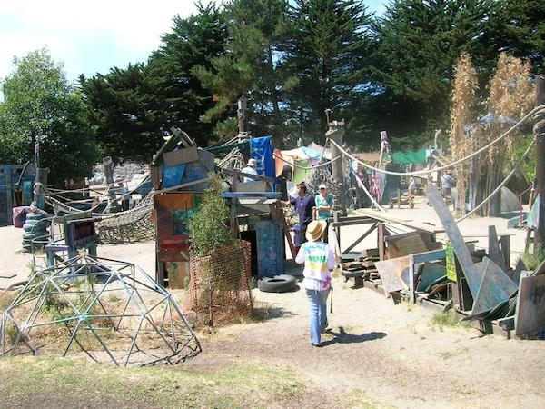 "<div class=""caption-credit""> Photo by: City of Berkeley</div><div class=""caption-title"">Adventure Playground, Berkeley CA</div>For families who are more ""Mad Max"" than ""Madeline,"" the Adventure Playground recalls a far away time before personal injury lawyers were invented. Saw, hammer and paint your own play structure."