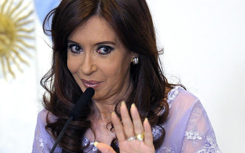 Cristina Kirchner, who ruled Argentina from 2007 to 2015 - This content is subject to copyright.