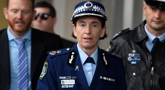 Texts between Commissioner Scipione and Cath Burn have come to light after the Lindt Cafe Siege. Photo: AAP