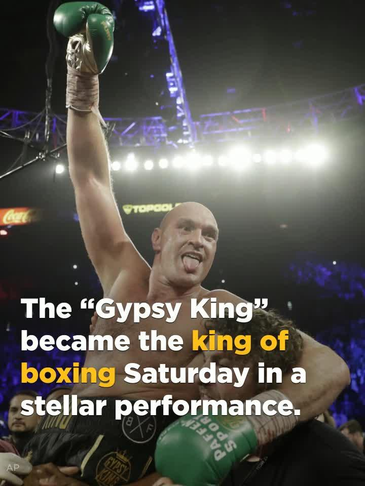 Tyson Fury holds all the power in heavyweight division after crowning performance.