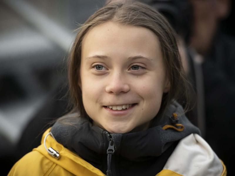 Greta Thunberg attends a Fridays For Future strike in Turin, Italy, on 13 December 2019: Getty