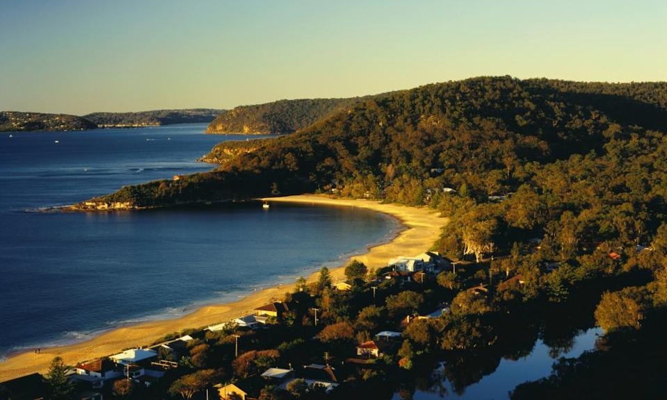 Patonga and the headland at Brisbane Water National Park on the Central Coast of New South Wales.