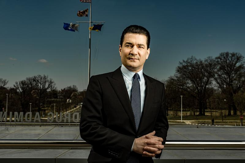 'It Tortures Me That I'm Not There Helping.' Former FDA Commissioner Scott Gottlieb on the Fight Against COVID-19