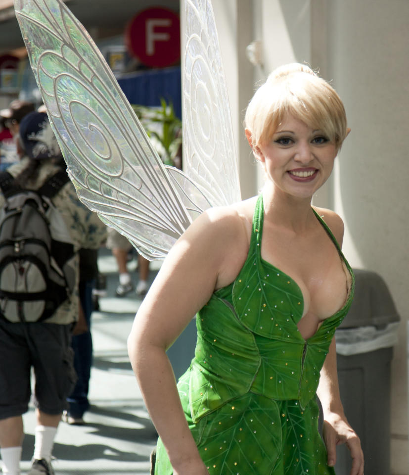 Becky Young as Tinkerbell at the 2011 San Diego Comic-Con