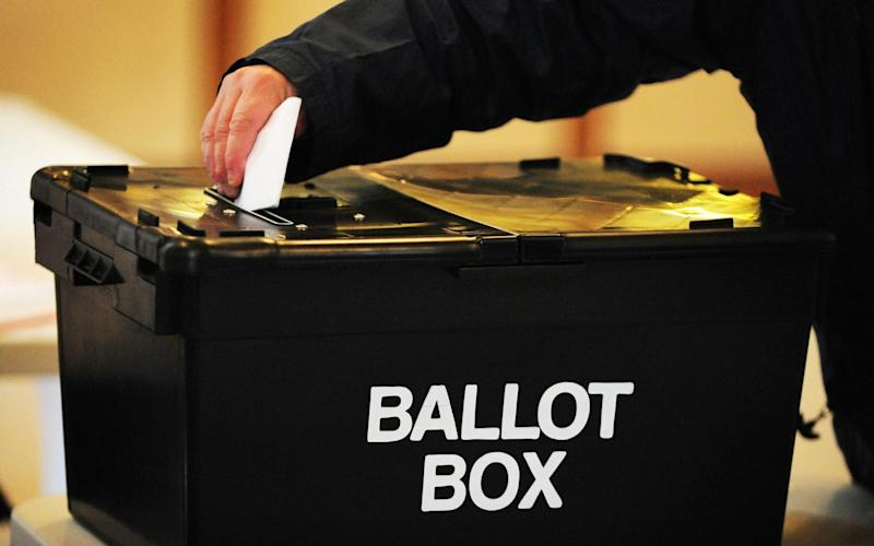 Voters will cast their ballot in June - Credit: PA