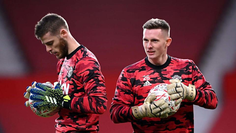 Henderson y De Gea | Laurence Griffiths/Getty Images