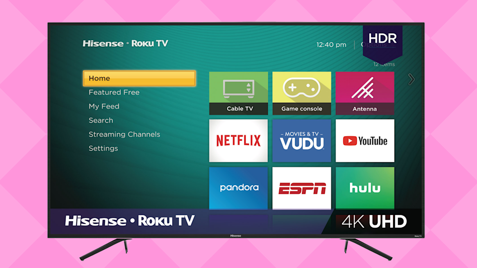 Save $100 on this Hisense 75-inch Roku 4K Ultra HD Smart TV. (Photo: Walmart)