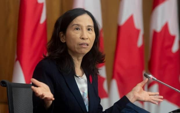 Canada's Chief Public Health Officer Dr. Theresa Tam hasn't held press briefings on COVID-19 since the start of the election campaign. (Adrian Wyld/Canadian Press - image credit)