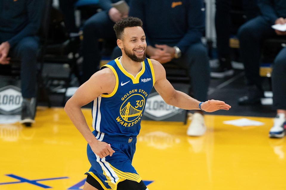Golden State Warriors guard Stephen Curry is averaging 29.7 points per game this year.