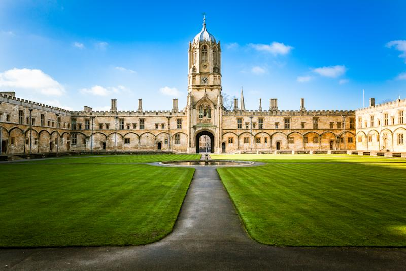 Tom tower at Oxford university