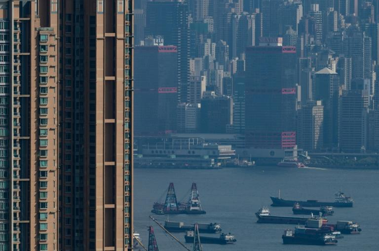 The slower ships go, the less they pollute (AFP Photo/Philip FONG)