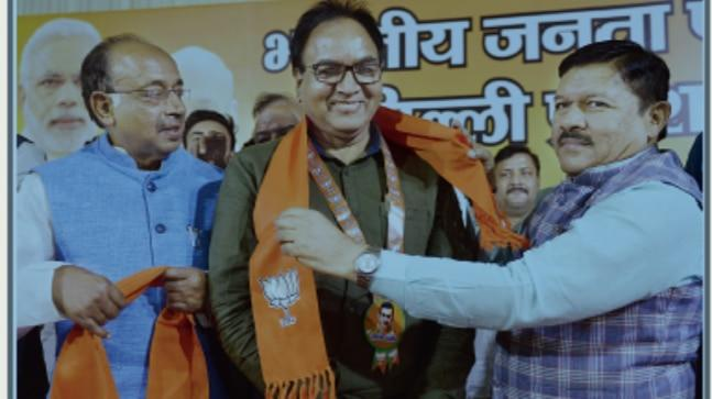 Aam Aadmi Party (AAP) MLA Anil Bajpai joined the Bharatiya Janata Party (BJP) on Friday. It happened hours after party chief Arvind Kejriwal accused the BJP of attempts to poach its leaders.
