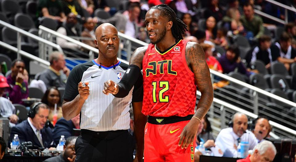 Veteran referee Haywoode Workman, who played in the NBA for eight seasons, has a unique perspective that helps him communicate better with players. (Photo by Scott Cunningham/NBAE via Getty Images)