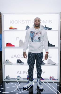 """Shop the personal collection of NBA player P.J. Tucker, including Nike Fear of God """"Friends and Family,"""" autographed Nike Basketball Hyperdunk """"PE,"""" signed P.J. Tucker #17 Houston Rockets """"Official NBA game jersey,"""" and an autographed NBA Basketball signed by the entire Houston Rockets team."""