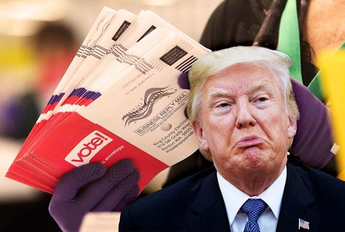 Donald Trump; Mail in Ballots