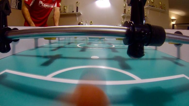 Foosball players prepare for World Cup in Germany