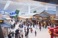 <p>Haneda Airport serves five major airlines and it located in the heart of Tokyo making it a vital pitstop for travellers across the globe. <em>[Photo: Getty]</em> </p>