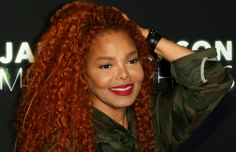 "LAS VEGAS, NEVADA - MAY 17: Singer Janet Jackson attends the after party for the debut of her residency ""Metamorphosis"" at On The Record Speakeasy and Club at Park MGM on May 17, 2019 in Las Vegas, Nevada. (Photo by Gabe Ginsberg/Getty Images)"