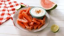 """<p>The South Carolina city of Spartanburg is fine with you eating watermelon...<a href=""""https://www.visitspartanburg.com/local-cemeteries-two-and-a-half-centuries-of-history/"""" rel=""""nofollow noopener"""" target=""""_blank"""" data-ylk=""""slk:just as long as you're not in the Magnolia Street cemetery"""" class=""""link rapid-noclick-resp"""">just as long as you're not in the Magnolia Street cemetery</a>, you should be good to dig in.</p>"""