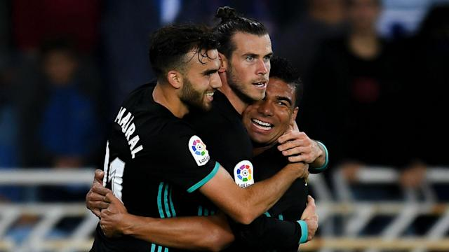 Gareth Bale scored in Real Madrid 3-1 win over Real Sociedad on Sunday and Zinedine Zidane was delighted for the under-fire winger. (Goal.com)