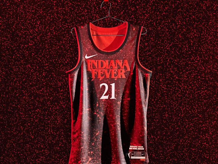Indiana Fever Stranger Things Rebel Edition Jersey