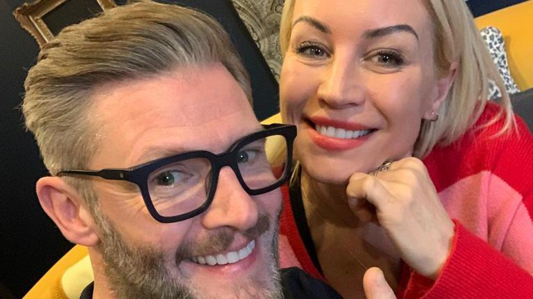 Denise Van Outen and Eddie Boxshall get hypnotised in the final episode of their podcast, Before We Say I Do
