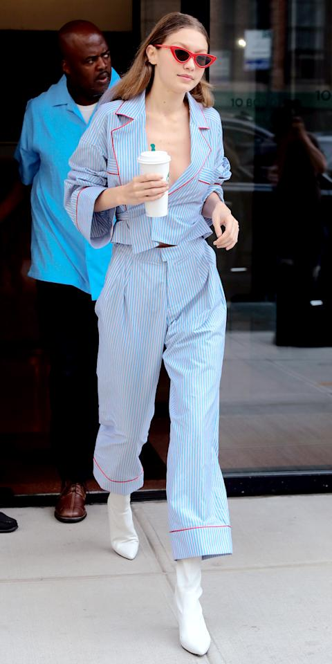 These Chic Celebrities Dared to Wear Their PJs in Public