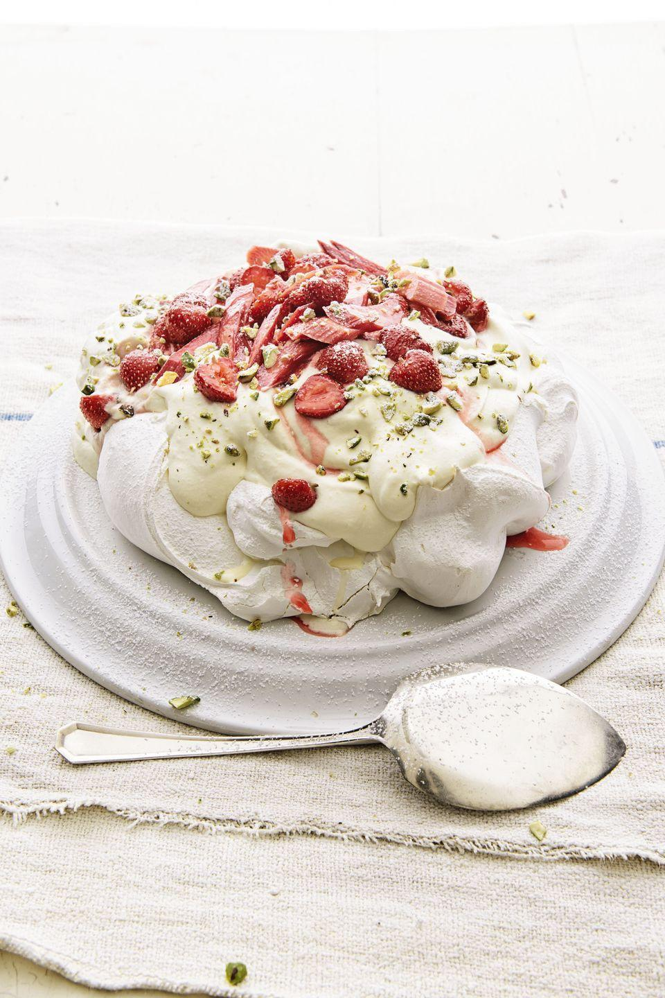 "<p>Sometimes, you have to show off your skills. Like today. Because ... Mom.</p><p><em><a href=""https://www.goodhousekeeping.com/food-recipes/a1522/pavlova-strawberries-rhubarb-recipe-ghk0415/"" rel=""nofollow noopener"" target=""_blank"" data-ylk=""slk:Get the recipe for Pavlova with Strawberries and Rhubarb »"" class=""link rapid-noclick-resp"">Get the recipe for Pavlova with Strawberries and Rhubarb »</a></em></p>"