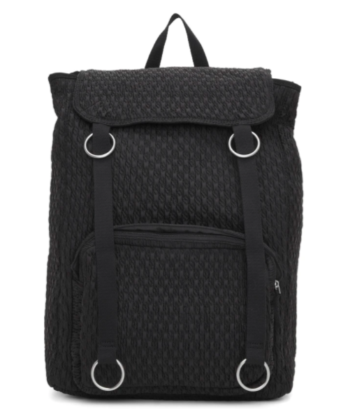 Raf Simons black Eastpak edition padded loop topLoad backpack, 48% off. US$167 (was US$321). PHOTO: Ssense