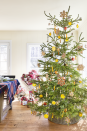 """<p>Take cues from this <a href=""""https://www.countryliving.com/home-design/house-tours/g4928/christmas-in-connecticut/"""" rel=""""nofollow noopener"""" target=""""_blank"""" data-ylk=""""slk:Connecticut Christmas tree"""" class=""""link rapid-noclick-resp"""">Connecticut Christmas tree</a> and <a href=""""https://www.countryliving.com/home-design/decorating-ideas/g4945/vintage-christmas-decorations-trends/"""" rel=""""nofollow noopener"""" target=""""_blank"""" data-ylk=""""slk:add vintage charm"""" class=""""link rapid-noclick-resp"""">add vintage charm</a> with dried citrus and gingerbread ornaments.</p><p><a class=""""link rapid-noclick-resp"""" href=""""https://www.amazon.com/s/ref=nb_sb_noss_2?url=search-alias%3Dgarden&field-keywords=gingerbread+cookie+ornaments&tag=syn-yahoo-20&ascsubtag=%5Bartid%7C10050.g.1247%5Bsrc%7Cyahoo-us"""" rel=""""nofollow noopener"""" target=""""_blank"""" data-ylk=""""slk:SHOP ORNAMENTS"""">SHOP ORNAMENTS</a></p><p><strong>RELATED:</strong> <strong><a href=""""https://www.countryliving.com/home-design/decorating-ideas/tips/g1251/trim-christmas-trees-1208/"""" rel=""""nofollow noopener"""" target=""""_blank"""" data-ylk=""""slk:Best Christmas Tree Decor Ideas"""" class=""""link rapid-noclick-resp"""">Best Christmas Tree Decor Ideas</a></strong></p>"""