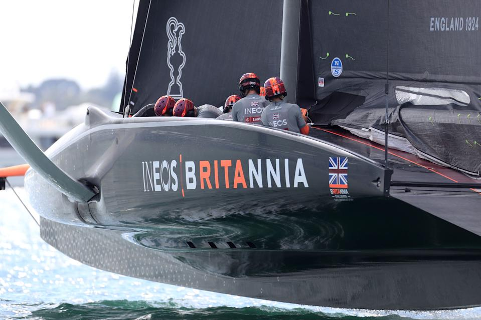 Sir Ben Ainslie's Ineos Team UK competes against New York Yacht Club's American Magic in the Prada Cup, a series of races to decides who faces Team New Zealand to contest the America's Cup.
