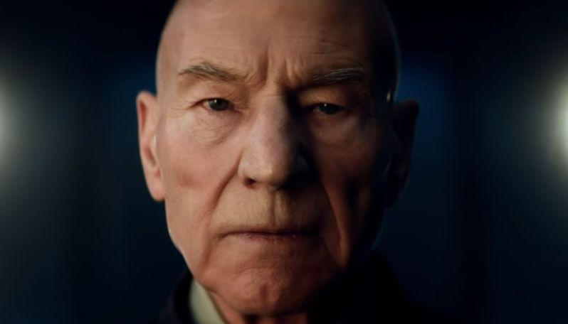 Patrick Stewart in Star Trek: Picard trailer