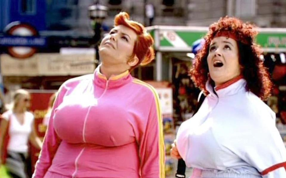 Fiona Allen and Sophie Thompson in Fat Slags