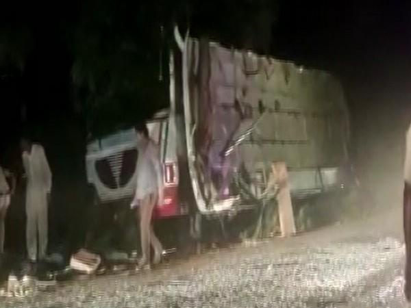 Visual of the accident (Photo/ANI)