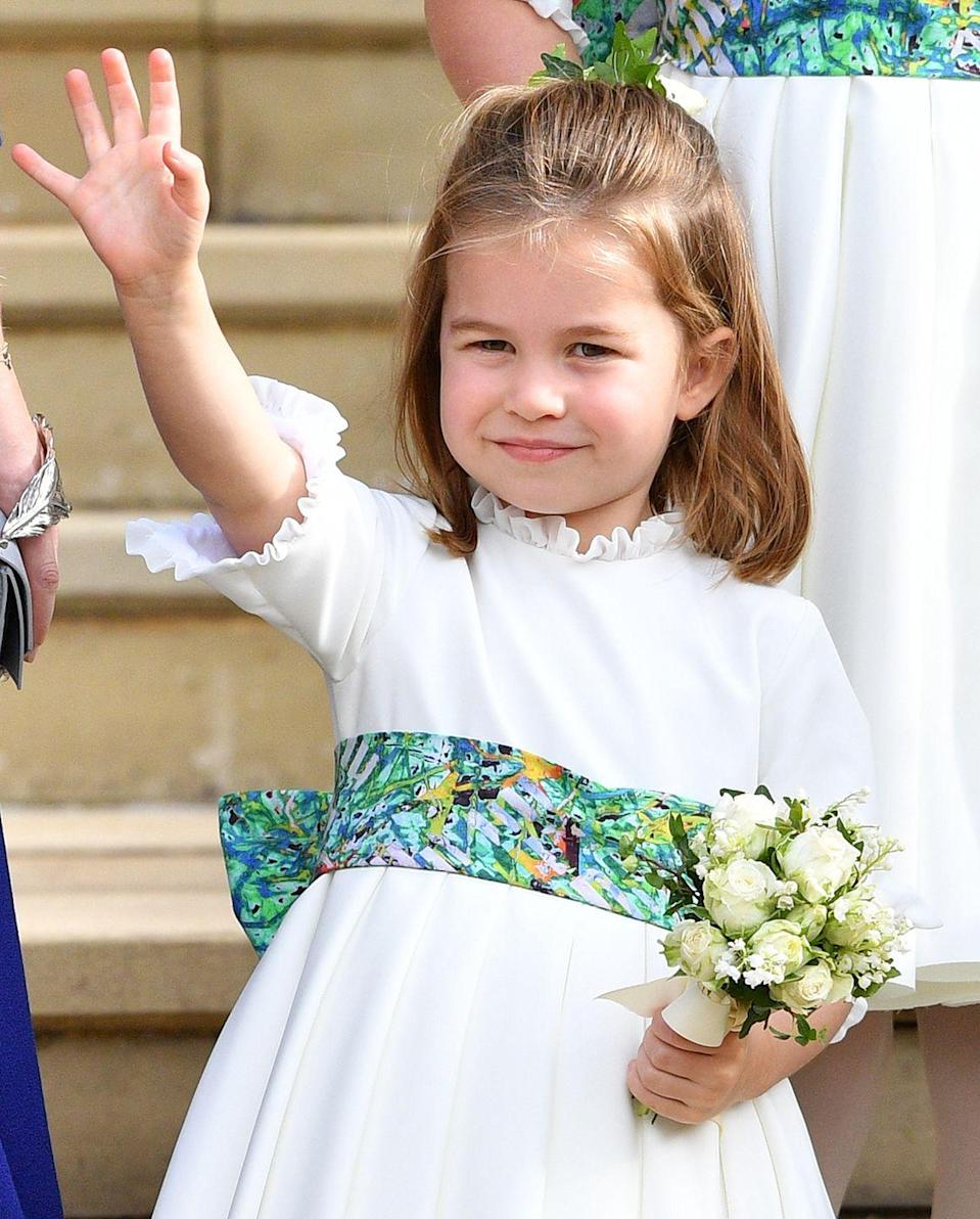 <p>As the second-born of the Duke and Duchess of Cambridge, the four-year-old princess is fourth in line to the throne.</p>