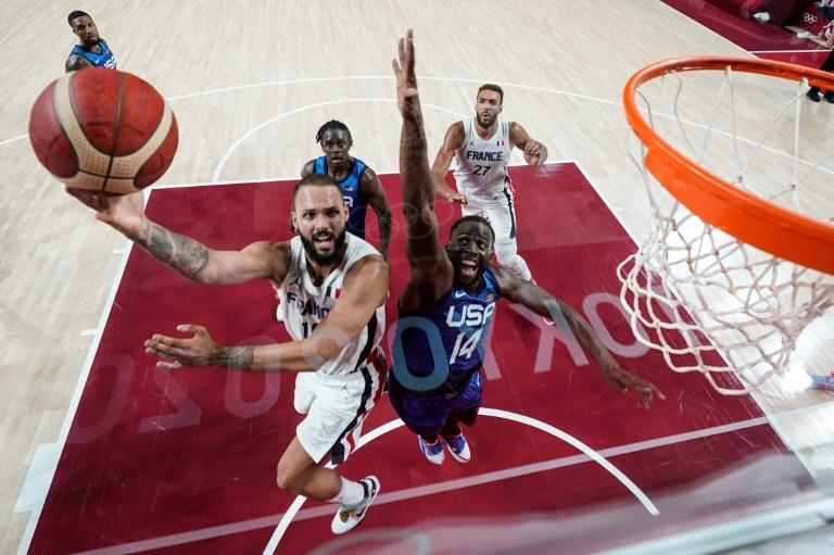 Evan Fournier top-scored with 28 points as France inflicted a first Olympic defeat since 2004 on a USA men's basketball team