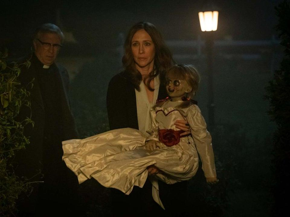 The film avoids the kind of self-seriousness that's made some of the other films in The Conjuring franchise feel like such a drag