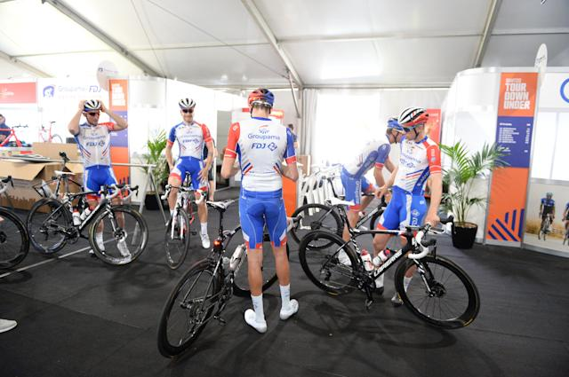 The Groupama-FDJ team