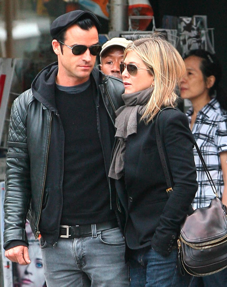 "Jennifer Aniston and Justin Theroux are ""over,"" reveals <i>Star</i>. The mag says Aniston ""finally gave up on Justin"" after a recent dinner when talk of marriage came up, and he said, ""Can we change the subject?"" For what really got the actress to tell Theroux they should go their ""separate ways,"" and how Aniston's holding up, go to <a target=""_blank"" href=""http://www.gossipcop.com/jennifer-aniston-justin-theroux-split-breakup-dumped-august-2012/"">Gossip Cop</a>."
