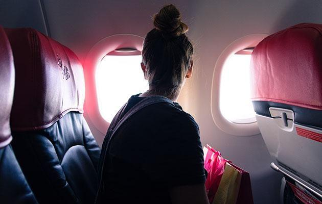 Flight attendants don't ask you to open your blinds so you can enjoy the view below. Source: Getty