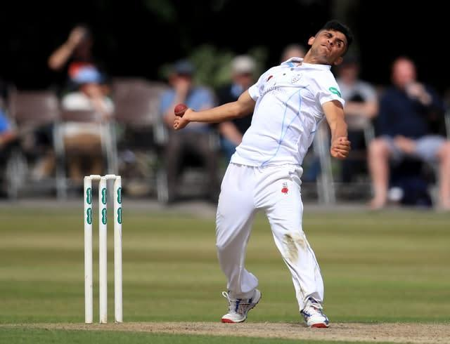 Hamidullah Qadri in action for former side Derbyshire (Mike Egerton/PA)