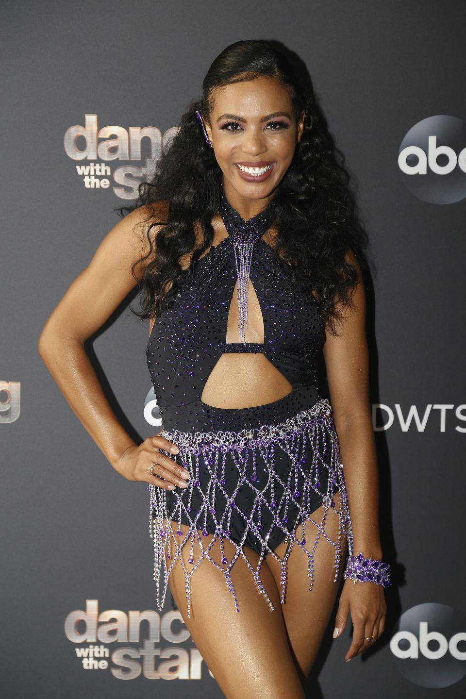 """<p><a href=""""https://www.womenshealthmag.com/life/a33893418/britt-stewart-dancing-with-the-stars/"""" rel=""""nofollow noopener"""" target=""""_blank"""" data-ylk=""""slk:Britt is DWTS's first-ever Black female pro"""" class=""""link rapid-noclick-resp"""">Britt is<em> DWTS</em>'s first-ever Black female pro</a>. She's hardly new to the show, though. She was on """"troupe"""" for five seasons and also went on tour with the show. """"I'm just so grateful, so excited and over the moon, honestly. Ever since I found out, I just don't really know what to do with myself. So much excitement, so much emotion,"""" she told <em><a href=""""https://urldefense.com/v3/__https://www.etonline.com/dancing-with-the-stars-britt-stewart-reacts-to-being-the-first-black-female-pro-exclusive-151508__;!!Ivohdkk!1fog6xwaF5AhU7FQp5rPYPK9351qE5UJjMdj5FlWPKTUeC2VzpfkKzdShaovu-fnnbU$"""" rel=""""nofollow noopener"""" target=""""_blank"""" data-ylk=""""slk:ET"""" class=""""link rapid-noclick-resp"""">ET</a></em>.</p>"""