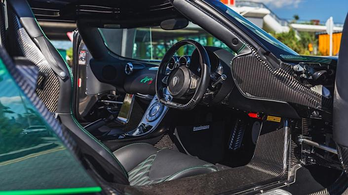 Inside the 2012 Koenigsegg Agera S - Credit: Collecting Cars
