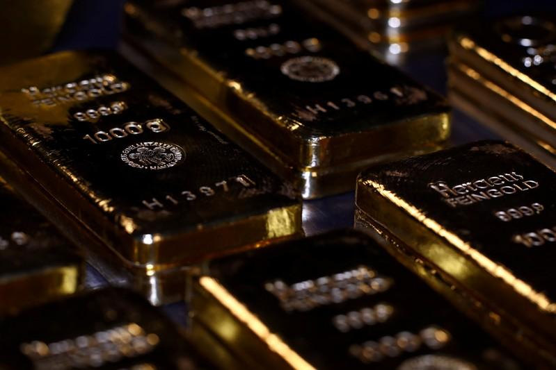 Gold slips to over three-month low as equities rise on 'risk-on' sentiment