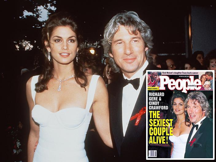 cindy crawford richard gere sexiest couple people