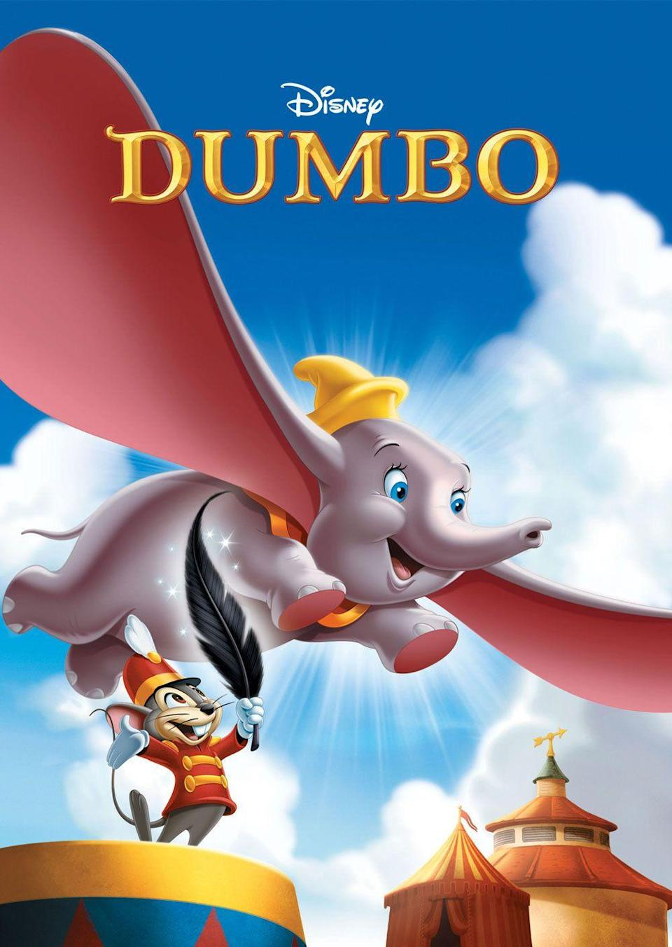 """<p>Tim Burton's adaptation of <em>Dumbo</em> was just as dark as his previous films. While the remake isn't as colorful as the original, seeing Dumbo take flight for the first time is absolutely breathtaking and you'll find yourself crying just as hard at this Disney tearjerker. <br></p><p><a class=""""link rapid-noclick-resp"""" href=""""https://www.amazon.com/Dumbo-Herman-Bing/dp/B004IAFBAM/?tag=syn-yahoo-20&ascsubtag=%5Bartid%7C10065.g.2936%5Bsrc%7Cyahoo-us"""" rel=""""nofollow noopener"""" target=""""_blank"""" data-ylk=""""slk:Watch the Original"""">Watch the Original</a></p>"""