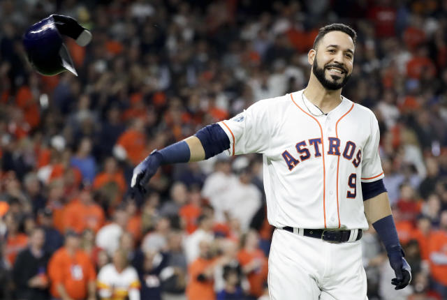 Versatile teams love nothing more than a player like Marwin González. (AP)