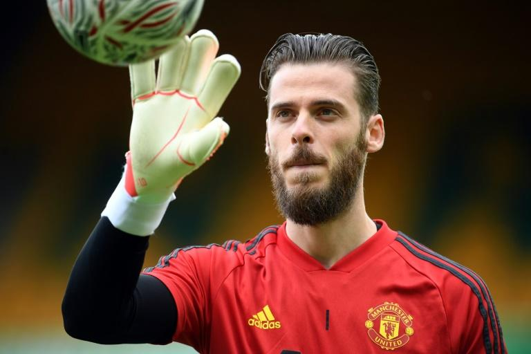 David de Gea is preparing to make his 400th appearance for Manchester United